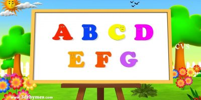 ABC Song | ABCD Alphabet Songs | ABC Songs for Children – 3D ABC Nursery Rhymes