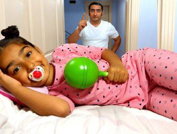 Esma Johny Johny Yes Papa Funny Pretend Funny kid video