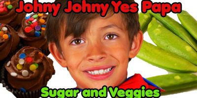 Johny Johny Yes Papa Veggies | Nursery Rhymes