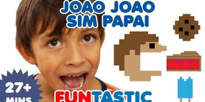 Joao Joao | Johny Johny Yes Papa in Portuguese | Canções infantis