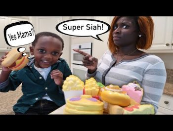 Super Siah Eats All The Squishy Food Johnny Johnny Yes Papa