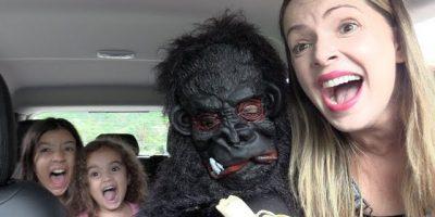 Kids and monkey, Johny Johny Yes Papa #8