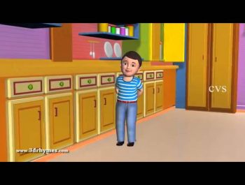 Johny Johny Yes Papa Poem   3D Animation English Nursery rhyme for children with lyrics 360p