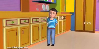 Johny Johny Yes Papa Poem   3D Animation English Nursery rhyme for children with lyrics 360p