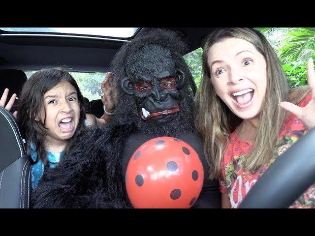 kids and monkey, Johny Johny Yes Papa #9