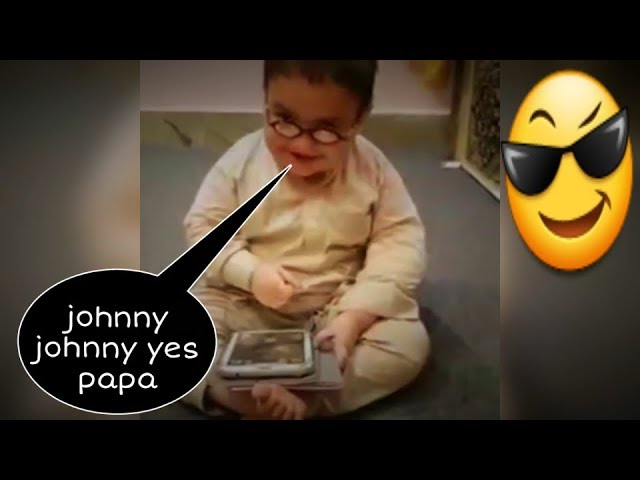 Ahmed Shah Johny Johny Yes Papa talented Pathan new video