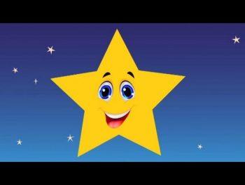Twinkle Twinkle little star – Nursery Rhymes – Estrellita dónde estás en inglés