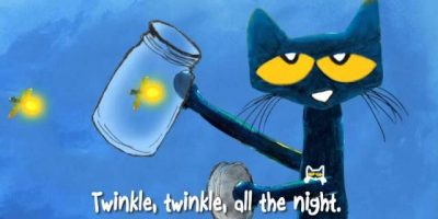 #ReadAlong | PETE THE CAT: Twinkle, Twinkle, Little Star | Sing-Along Song | A Groovy Twist