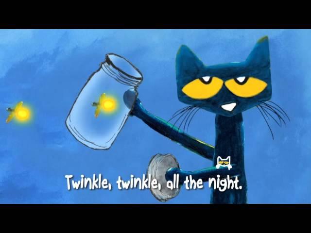 #ReadAlong   PETE THE CAT: Twinkle, Twinkle, Little Star   Sing-Along Song   A Groovy Twist