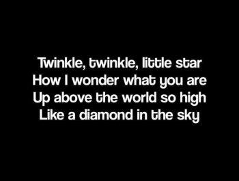Twinkle Twinkle Little Star – Jewel (with lyrics)