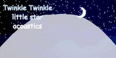 เพลงกล่อมเด็ก ฟังสบาย 1 ชม twinkle twinkle little star อคูสติก