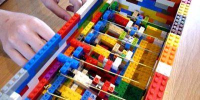 Lego harpsichord – Twinkle Twinkle Little Star