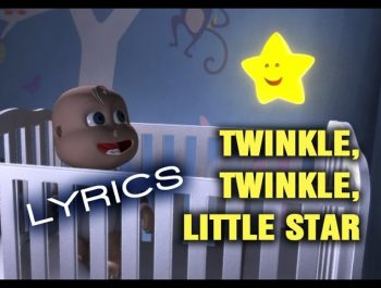 TWINKLE TWINKLE LITTLE STAR  whit Lyrics Lullaby for Babies