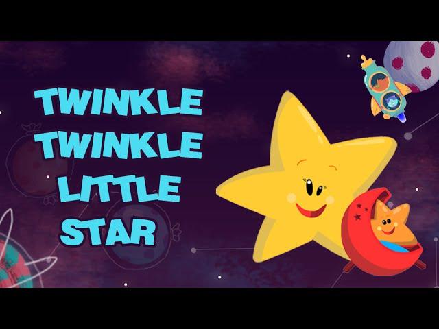 Twinkle Twinkle Little Star – Nursery Rhymes Songs for Children | Star Rhymes | Rajshri Kids