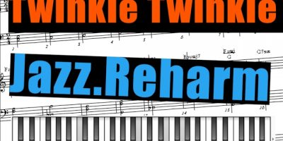 Twinkle Twinkle Little Star Jazz reharmonization  Tutorial