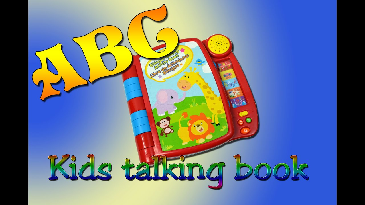 ABC Talking Book | ABC Song for Kids | ABC Song | Alphabet for Kids | ABC Song for Children