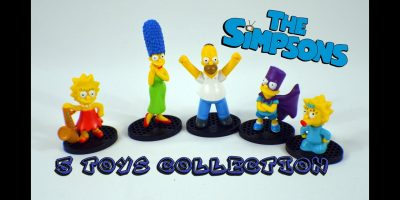 5 Simpsons Toys Figure Collection  Коллекция из 5 Симпсонов Bambuc TV
