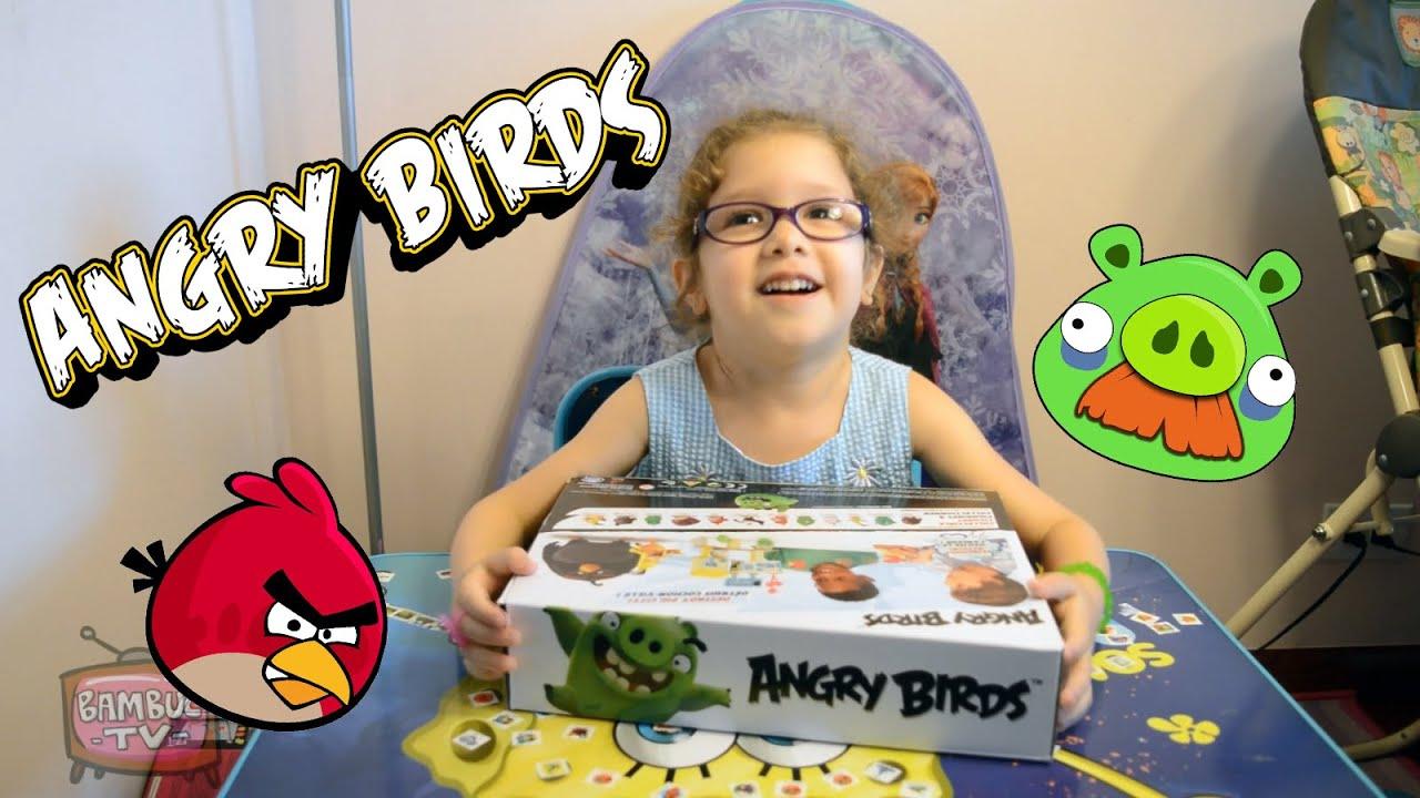 Обзор игры злые птички/Angry Birds Kids Table Game