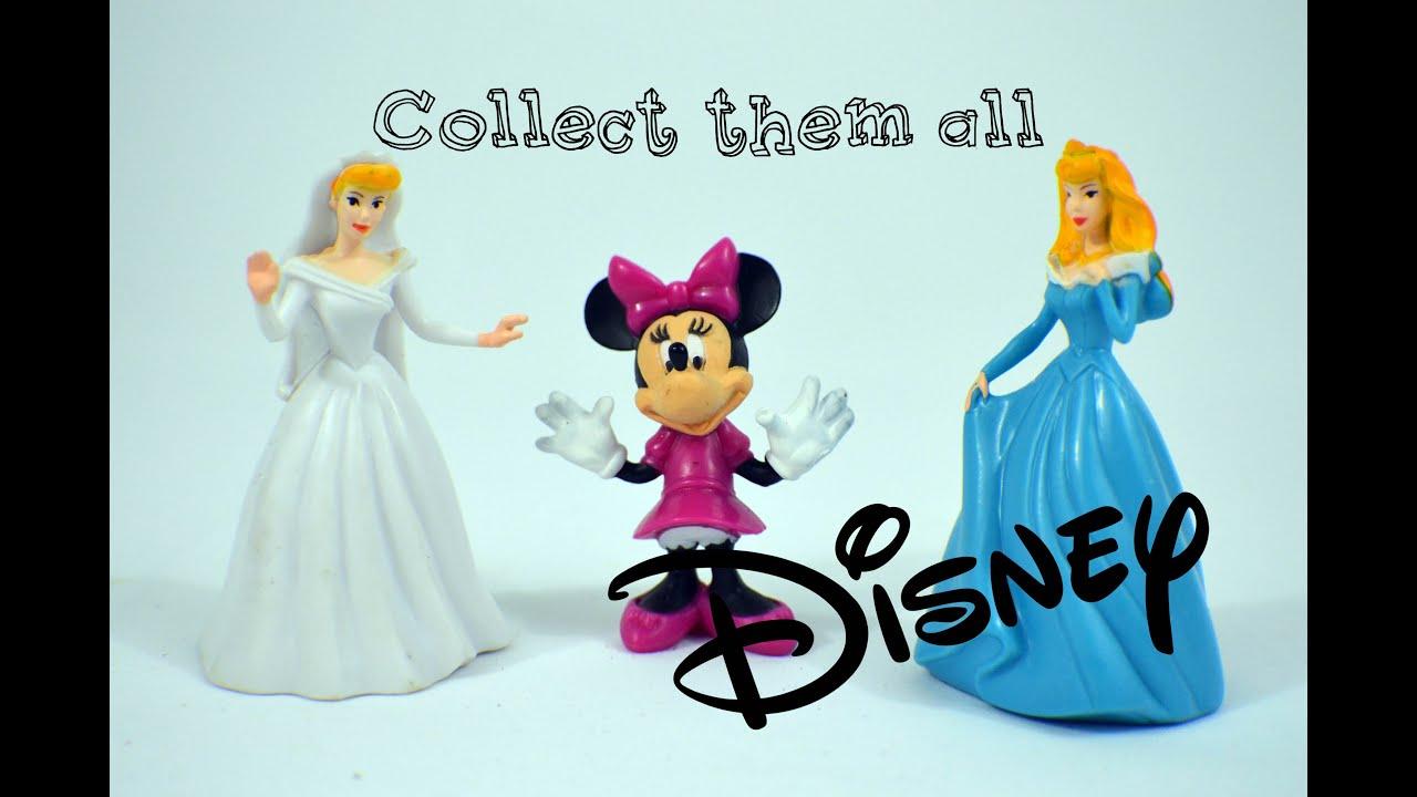 More Fun with Disney Toys  Диснеевские игрушки фигурки- Bambuc TV