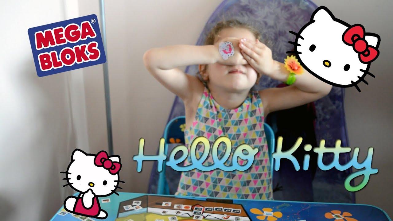 Обзор игрушки Hello Kitty Mega blocks от Bambuc.TV