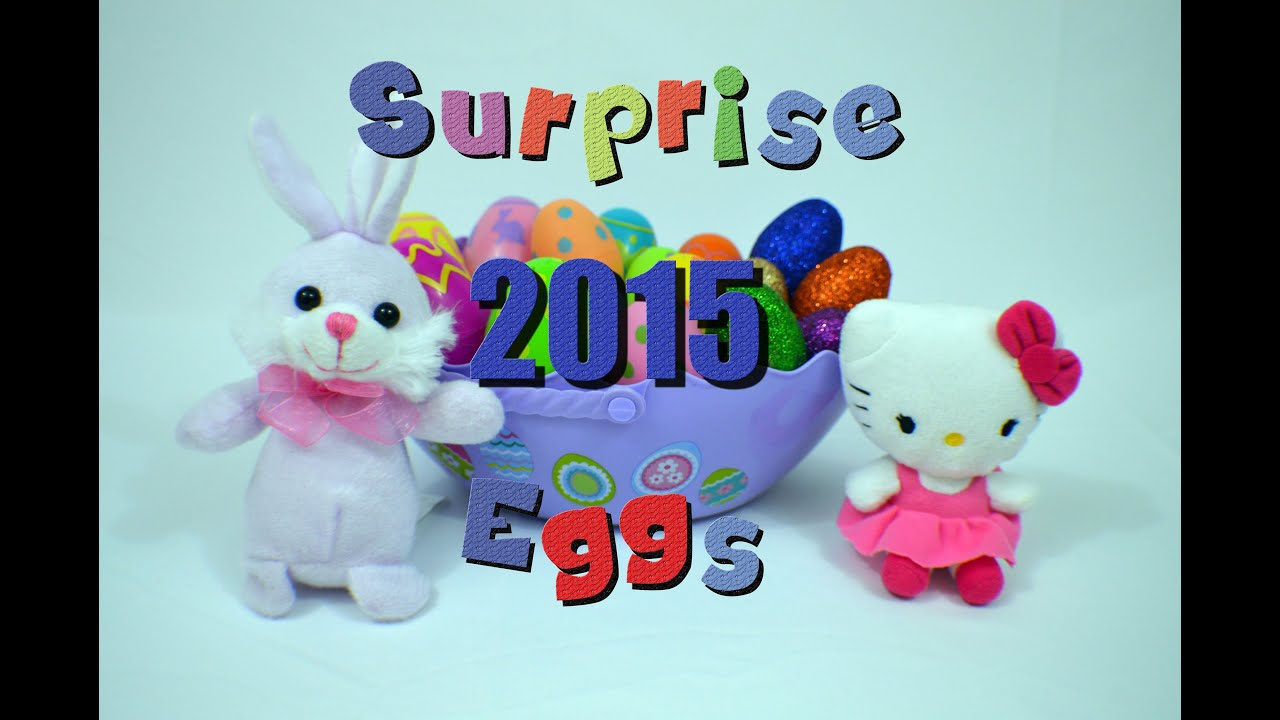 11 Easter Surprise Eggs / 11 Яиц с Сюрпризом Bambuc TV
