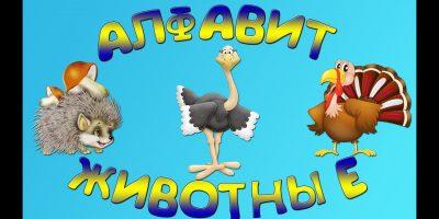 Алфавит животные | Алфавит для детей | Алфавит Песенка | Развивающий мультфильм