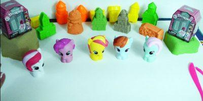 Learn colors count to five My Little Pony Disney Doorables Hatchimals Hatchibabies