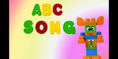 ABC Song for Kids Lego Mega Blocks Funny | Алфавит английский песенка