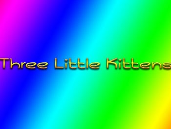 Three Little Kittens – Bambuc TV Nursery Rhymes for Baby