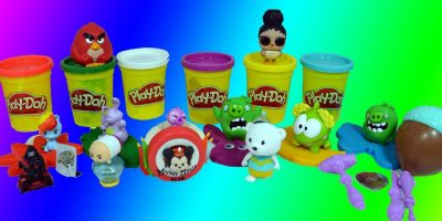 Learn Colors and Digits | Tsum Tsum | LOL Surprise Pets | Angry Birds | PlayDoh |