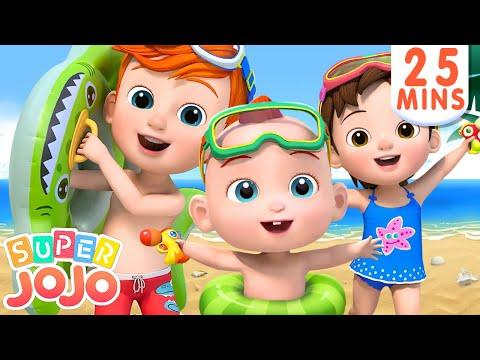 Beach Song   Fun Day at the Beach + More Nursery Rhymes & Kids Songs – Super JoJo