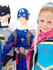 Nastya becomes a superhero