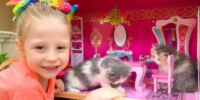 Nastya and the cat – stories about kittens
