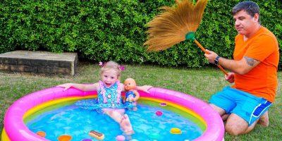 Nastya و papa – أحلام مضحكة واللعب التظاهر