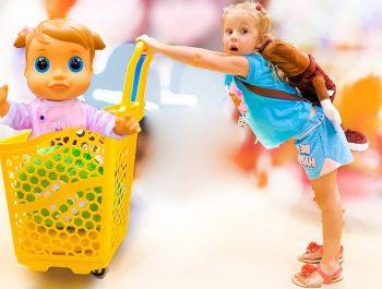أغاني الأطفال / أغنية رقم / أغنية التسوق أغنية الأطفال بواسطة ستايسي