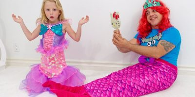 Stacy turned into a real little mermaid