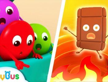 Colorful Candies Rescue Team   Color Songs   Learn Colors   Kids Cartoon   Nursery Rhymes   BabyBus