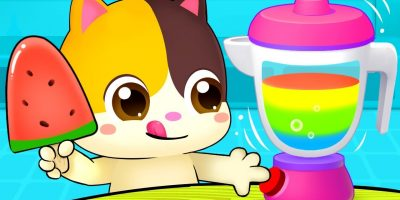 Rainbow Ice Pop – Colors Song | Vegetables Song | Learn Colors | Nursery Rhymes | Kids Songs|BabyBus
