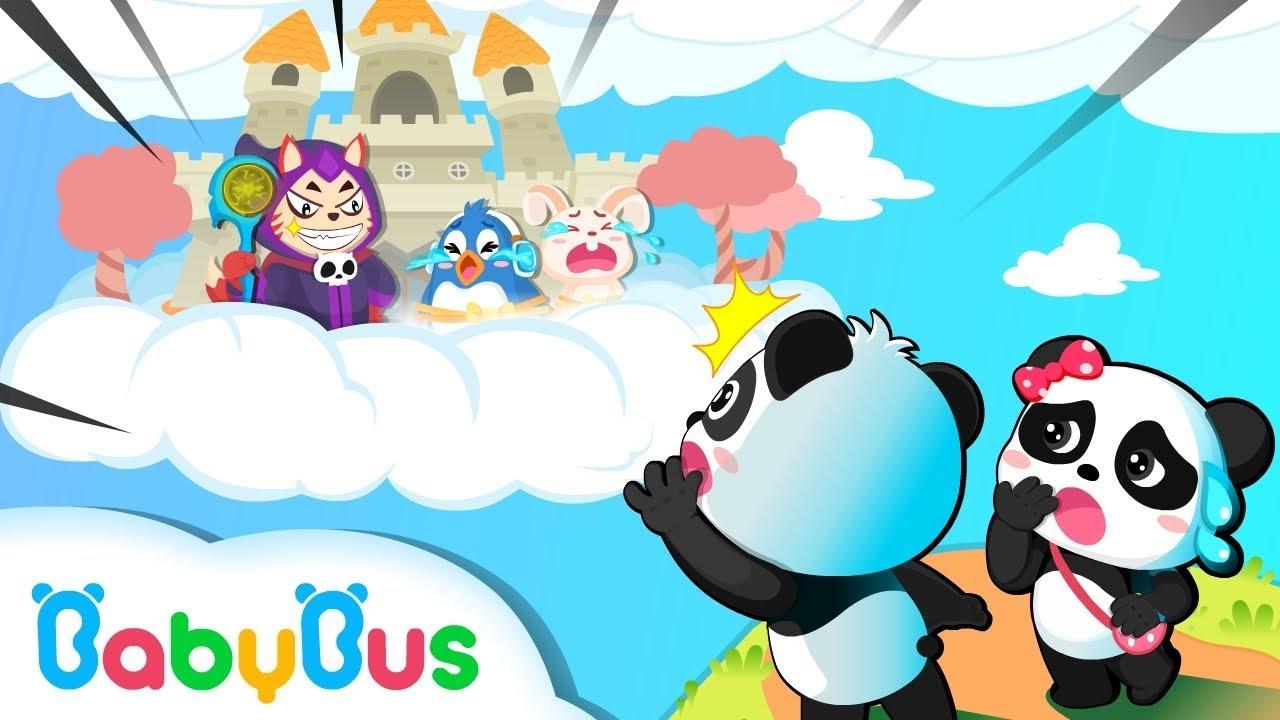Devil King Catches Kiki's Friends | Math Kingdom Adventure Episode | Simple Math for Kids | BabyBus