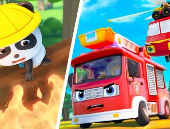Super Firefighter Rescue Team | Police Car, Ambulance | Nursery Rhymes | Kids Songs | BabyBus