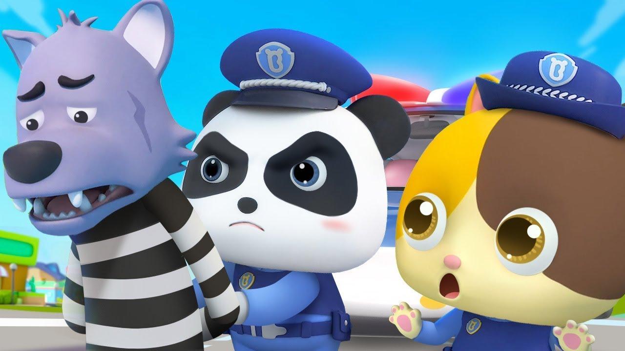 Policeman Keeps Everyone Safe | Doctor Cartoon, Fire Truck | Nursery Rhymes | Kids Songs | BabyBus