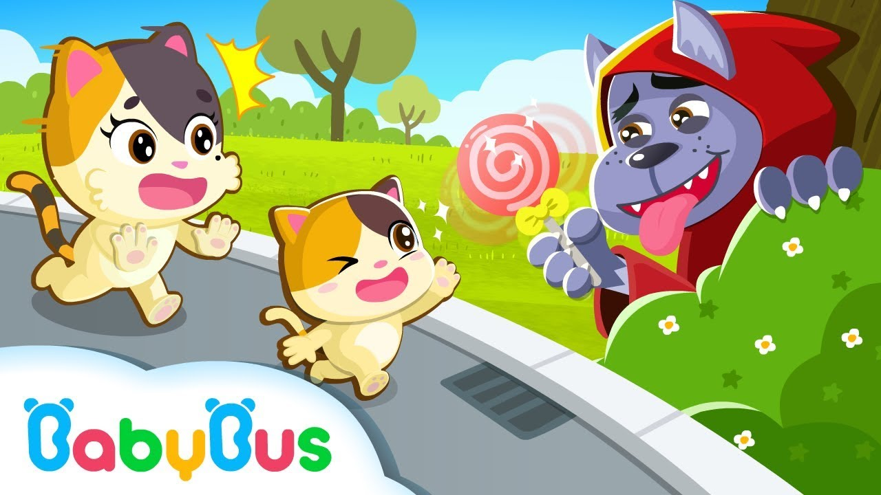 Kitten Mimi, Don't Go with Strangers | Kids Safety Tips | Kids Cartoon | Baby Cartoon | BabyBus