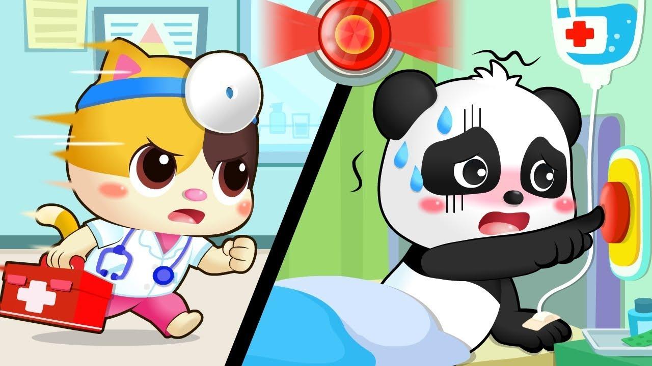 Emergency Siren is On | Doctor Cartoon | Nursery Rhymes | Kids Songs | Kids Cartoon | BabyBus
