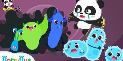 Big Germs are Making a Mess in Baby Panda's Body | Good Habits Song | Kids Safety Tips | BabyBus