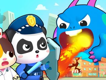 Hero Team vs Big Monster | Firefighter Song, Police Cartoon | Nursery Rhymes | Kids Songs | BabyBus