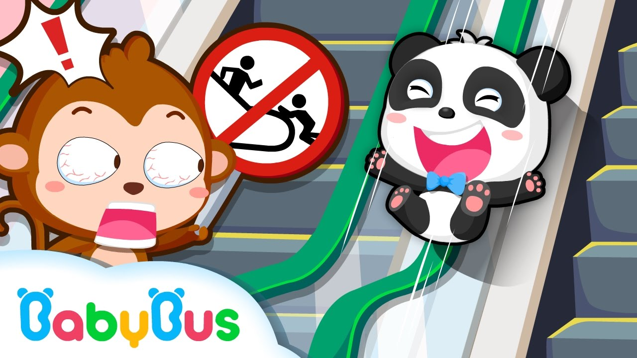 Travel Safety Tips | Animation Collection For Babies | Baby Panda | BabyBus √