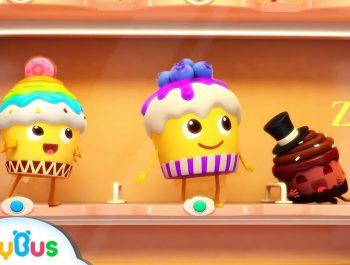 Naughty Cake, Hamburger Vending Machine | Ice Cream, Donuts Song | Baby Songs | BabyBus