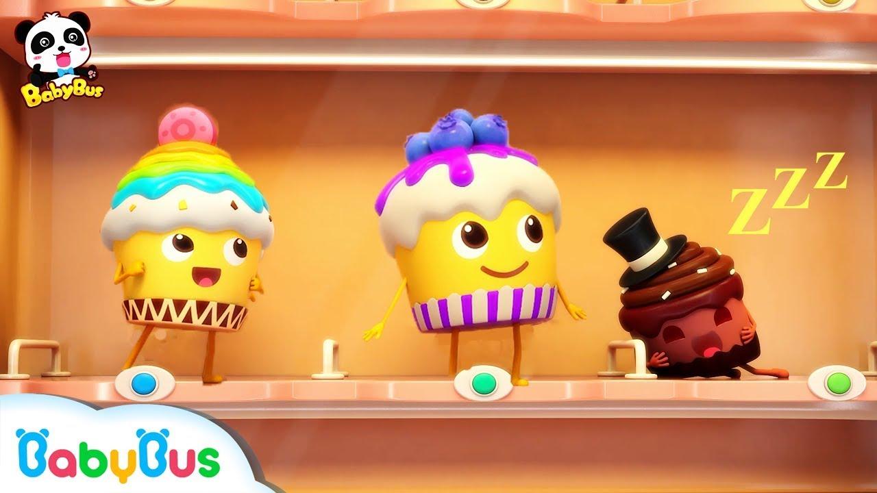 Naughty Cake, Hamburger Vending Machine   Ice Cream, Donuts Song   Baby Songs   BabyBus