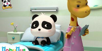 Baby Panda didn't Want to Go to School | Doctor Cartoon | Panda Cartoon | Kids Cartoon | BabyBus