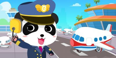 Baby Panda's Airport | Cool Flight Journey | Airplane Safety Tips | Gameplay Video | BabyBus Game